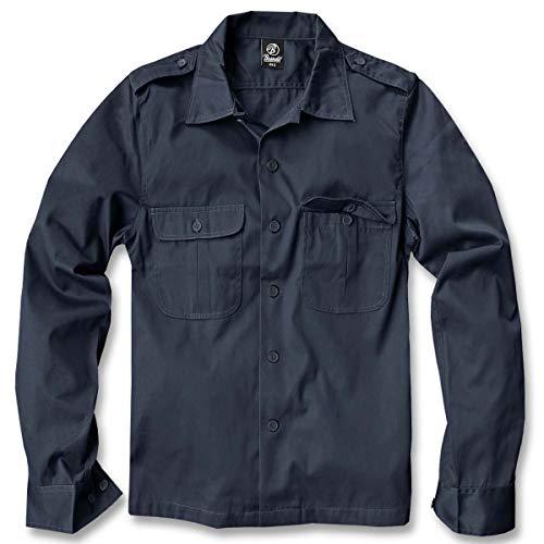 Brandit US Hemd Langarm Navy -