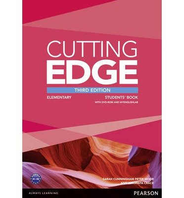 [(Cutting Edge Elementary Students' Book with DVD and MyEnglishLab Pack)] [ By (author) Peter Moor, By (author) Araminta Crace, By (author) Sarah Cunningham ] [March, 2014]