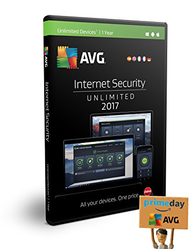 AVG Internet Security 2017 | Senza limiti | 1 anno