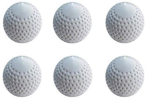 Victor White Turf Hockey Ball (Pack of 6)