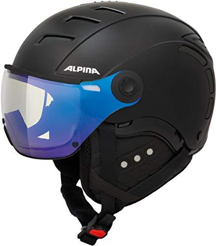 Alpina Unisex- Erwachsene Jump 2.0 VM Ski-und Snowboardhelm, Black matt, 61-63 cm