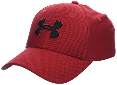 Under Armour Men's Blitzing 3.0 cap, Cappello Uomo, Rosso Red/Black 600), S/M
