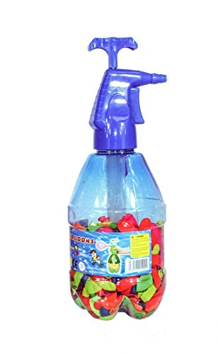 Wasserbomben Set XXL (200 Wasserbomben inkl. Pumpe) blau - tolles Kindergeschenk!