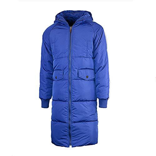 UFACE Herren Winter Zipper Hoodie Baumwolle gepolstert Mantel große Größe Baumwolle Outwear Tops