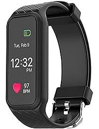 SNHWARE Smart Fréquence Cardiaque Intelligent écran Couleur Montre Bracelet Tracker Fitness Moniteur