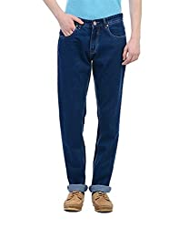 Monte Carlo Mens Straight Fit Jeans (2180870079DN-1-36_Dark Blue)