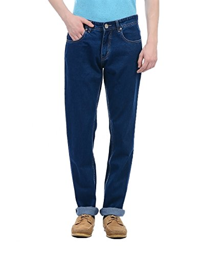 Monte Carlo Mens Straight Fit Jeans (2180870079DN-1-36_Dark Blue)