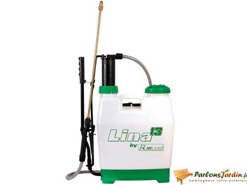 Ribiland - prp130d - Pulvérisateur à dos à pression entretenue 14.5l Lina 13