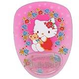 Hello Kitty alfombrilla de ratón: diseño floral