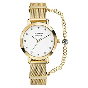 Orphelia Womens Analogue Quartz Watch with Stainless Steel Strap OF714801