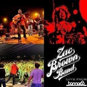Live From Bonnaroo Single Edition by Brown, Zac Band (2009) Audio CD
