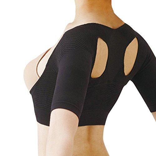 ANGTUO Haltung Back Support Brace Haltung corretor für Damen und Herren,Hilft Neck Entlasten & Pain Schulter,beugt Slouching & sorgt für eine bessere Atmung Effizienz