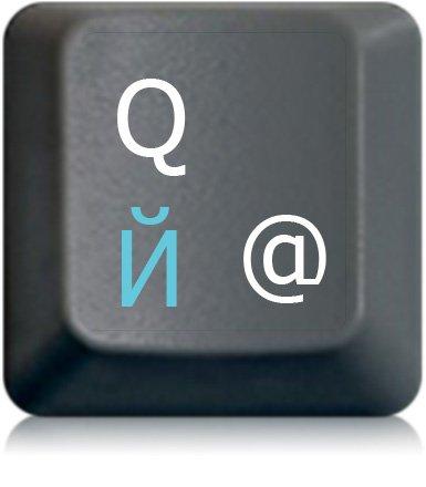 Russiche Tastaturaufkleber, transparent, laminierte matte Oberfläche, für Standard Tastaturen, Made