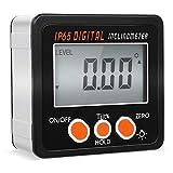 FIXKIT Digitaler LCD Winkelmesser Neigungsmesser Inklinometer magnetisch LCD...