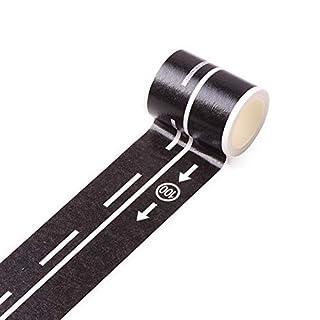 aaerp Heimwerker-Klebeband, Eisenbahn, Abnehmbare Schiene, Papier, Speed Limit 100 Road Tape, 5m*4.8cm