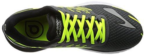 Brooks PureCadence 5, Chaussures de Sport Homme Antracite/Lime