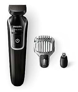 Philips QG3320/15 Serie 3000 Grooming Kit Rifinitore Barba e Capelli, 3 in 1