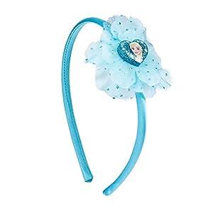 SIX Kids Disney Frozen Haarreif, Haarschmuck, ELSA Kostüm, Frozen Verkleidung, Rosa Haarreif, Haarschmuck, Karneval, Kindergeburtstag, blau (305-265)