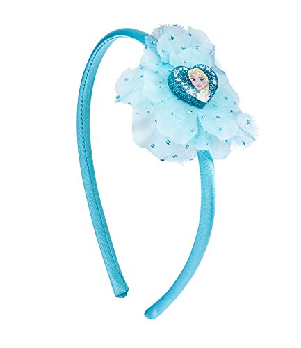 SIX Kids Disney Frozen Haarreif, Haarschmuck, ELSA Kostüm, Frozen Verkleidung, Rosa Haarreif, Haarschmuck, Karneval, Kindergeburtstag, blau (305-265) (Outfit Mädchen Frozen)