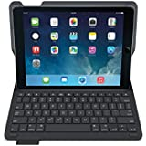Logitech 920-006545 - Funda con teclado para Apple iPad Air 1, negro - QWERTY Español