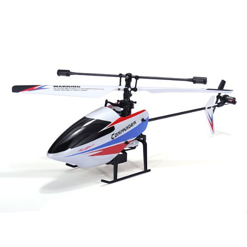 Galleria fotografica Bluelover Wltoys V911-Pro V911-V2 2,4 G 4Ch Elicottero Rc