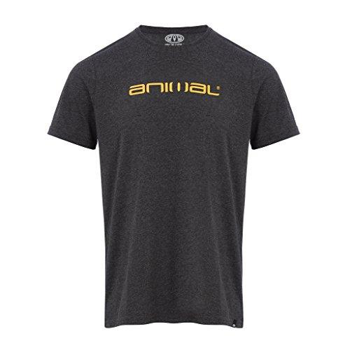 Herren T-Shirt Animal Marrly T-Shirt dark charcoal marl