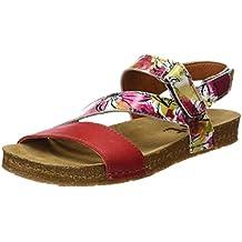 TOOGOO(R) Nuevsas sandalias planas del corcho Zapatillas ocasionales unisex del verano Tamano 10 Marron y3hX9dxm