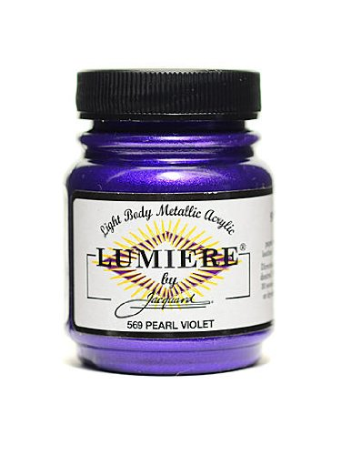 Jacquard Lumiere Pearl (Jacquard Lumiere Artist Acrylics pearl violet by Jacquard)