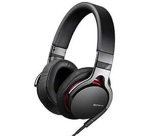 SONY Kopfhörer MDR-1RB - schwarz + Audio-Adapter - Klinken-Doppelstecker - 1 x 3,5 mm Stecker auf 2 x 3,5 mm Buchse