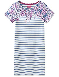 27bd949127b Joules Navy Floral Riviera Print Short Sleeve Dress