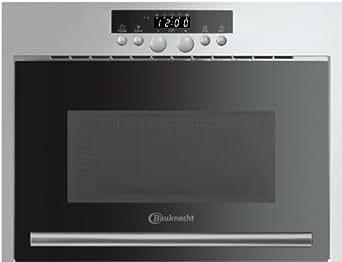 Bauknecht 858909501710 Micro-ondes 22 L Argent