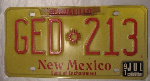 USA Nummernschild NEW MEXICO ~ US Kennzeichen License Plate ~ Blechschild