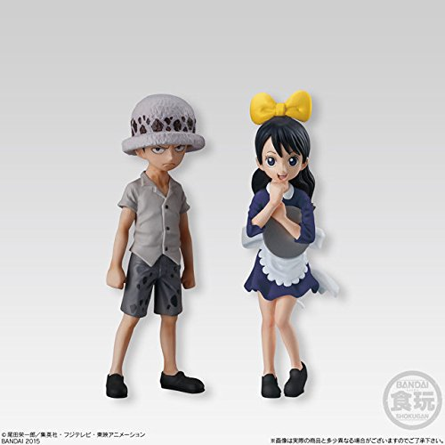 One Piece Super Styling - Trigger of that Day - 2 Figurine Trafalgar Law + Baby 5 * original + licensed