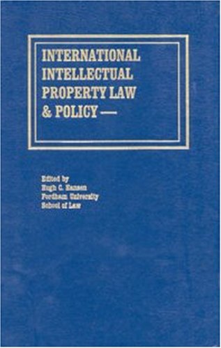 International Intellectual Property Law & Policy - Volume 2 (1996-12-31)