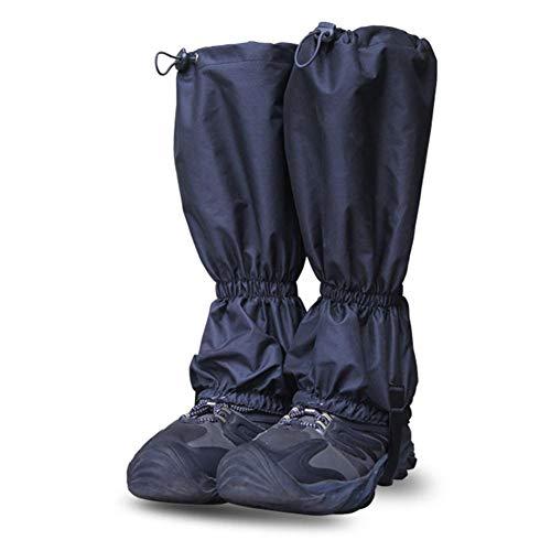 Biback Schnee-Bein-Gamaschen, wasserdichte Belüftung, reißfest, für Outdoor-Aktivitäten, Wandern, Klettern, Angeln, Trimmen, Gras