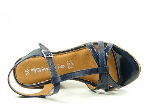 Tamaris 1-28347-28 Sandali donna Blau