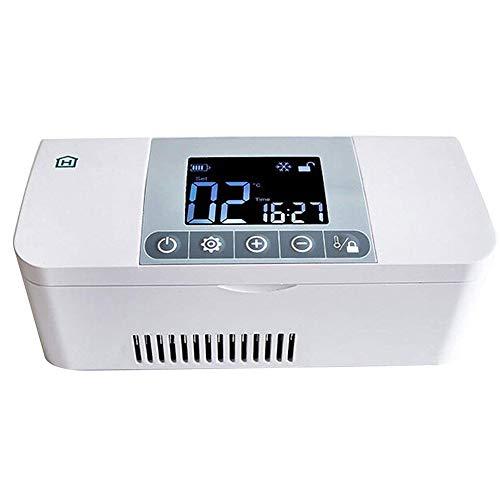 LETU Refrigerador Médico Portátil para Automóvil/Refrigerador De Insulina/Termostato para Mini Drogas Refrigerador/Congelador...