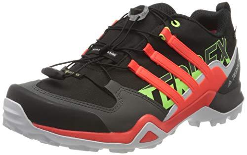 Adidas Terrex Swift R2 GTX, Zapatillas para Carreras de montaña para Hombre, Core Black/Solar Red/Signal...