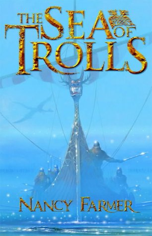 Book cover for The Sea of Trolls