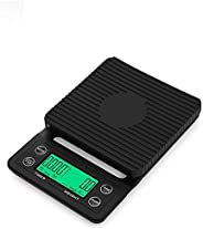 Digital Coffee Scale with Timer- Baking Table Weighting V60 Drip Coffee Mini Digital Electronic Kitchen Scale
