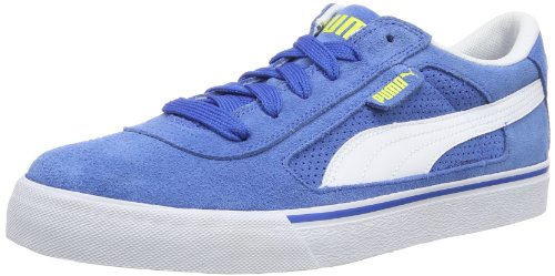 Puma S Evolution Herren Sneakers Blau (victoria Blu-bianco-fiammeggiante Giallo 05)