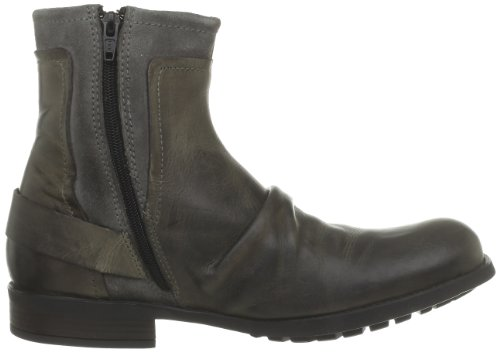 Base London Magnet, Boots homme Gris (Waxy Suede Grey)