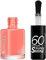 Rimmel - Vernis à Ongles 60 Seconds Super Shine - Ultra Brillance et Longue Tenue - Séchage rapide