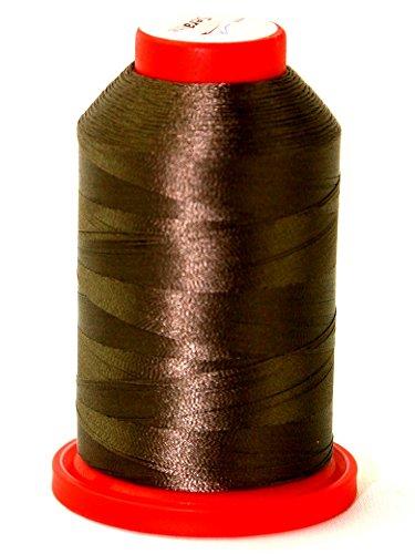 Mettler-seralene Polyester Extra feine Overlock Nähgarn 2000m 2000m 1182Kiefer Park–Pro Membran + Gratis Minerva Crafts Craft Guide (Kiefer Nähgarn)