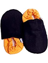 SKIPS Unisex Multi Leather Boots-7 UK (25 EU) (8 Kids US) (BLACKYELLOW-04)
