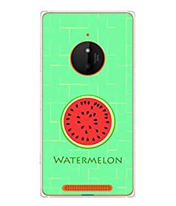 Fuson Designer Back Case Cover for Nokia Lumia 830 (Fresh Melon Healthy Summer Boy Girl Male )
