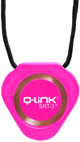 Q-Link Triangle SRT-3 Pendentif en acrylique Rose