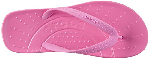 Crocs Hawaii, Tongs mixte enfant Rose (Party Pink)