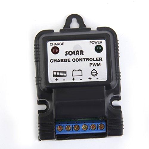 Gazechimp 11.1V 3A LED-Display Solarpanel Akkuschutz Controller PWM , Lithium-Ionen-Akku Ladegerät Controller