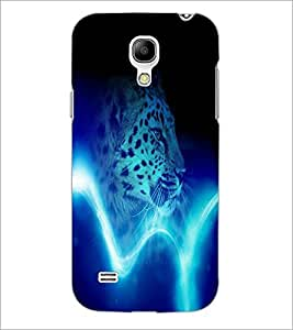 PrintDhaba Leopard D-4385 Back Case Cover for SAMSUNG GALAXY S4 MINI (Multi-Coloured)